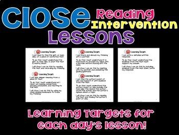 Reading Comprehension Intervention Bundle