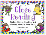 Close Reading Intro - Aligned to McGraw Hill Wonders