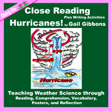 Close Reading: It's Hurricanes! by Gail Gibbons