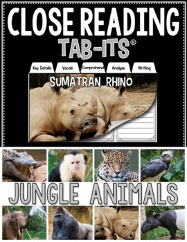 Close Reading - Jungle Animals