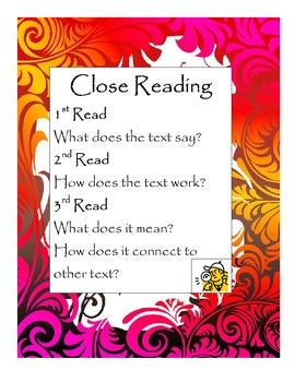 Close Reading Lesson Plan- Tiger Rising