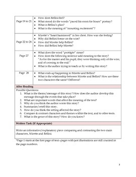 Close Reading Lessons (for 6 different texts)