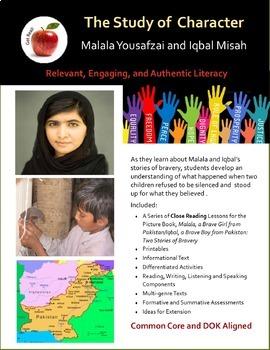 Malala Yousafzai and Iqbal Misah: Close Reading Lessons