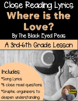 Poetry They Will LOVE: Close Reading- Where is the Love? b