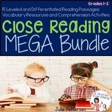 Year Long Close Reading MEGA Bundle