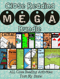 Close Reading MEGA Bundle-ALL Close Reads in My Store!
