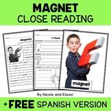 Magnet Close Reading Passage Activities