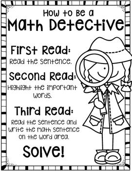Close Reading Math Word Problems