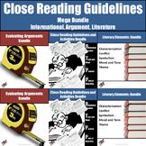 Close Reading Bundled Resources (Informational, Argument, Literary Analysis)