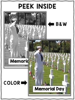 Memorial Day Close Reading Passage Activities