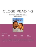 """Close Reading: """"My Daddy, Dr. Martin Luther King, Jr."""""""