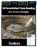 Close Reading 3rd, 4th, 5th, 6th Grade Non Fiction Reading