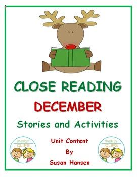 December Close Reading Nonfiction
