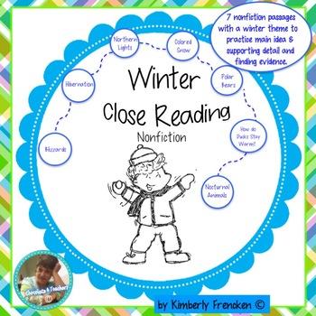 Close Reading Nonfiction Passages and Printables