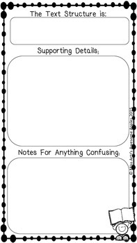 Close Reading Notes Packets - Grades 4-6