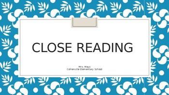 Close Reading PPT
