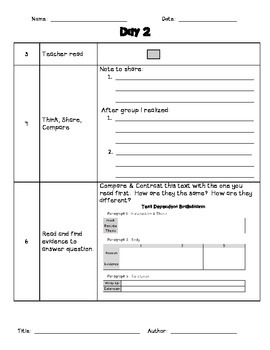 Close Reading Packet - 2