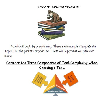 Close Reading Unit * Common Core