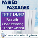 Paired Texts Test Prep - Close Reading and Essay Writing Bundle