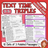 Paired Passages Plus Close Reading Comprehension Print and Google Slides