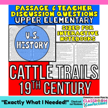Cattle Trails: Non-Fiction Reading Passage