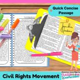 Civil Rights Movement: Reading Passage