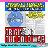 Cold War: Reading Passage