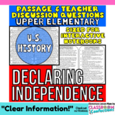 Declaration of Independence: Non-Fiction Reading Passage
