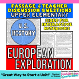 European Exploration: Explorers: Non-Fiction Reading Passage