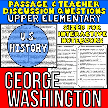 George Washington: Non-Fiction Reading Passage