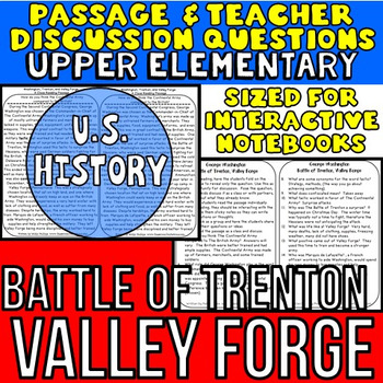 George Washington: Trenton: Valley Forge: Non-Fiction Reading Passage