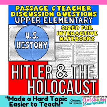 Hitler and the Holocaust: Non-Fiction Reading Passage