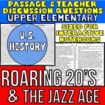 Jazz Age: Non-Fiction Reading Passage