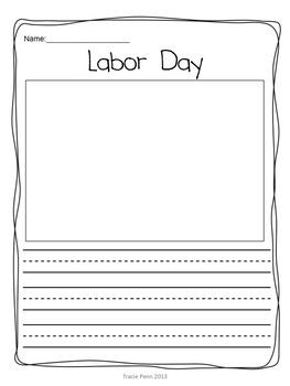 """Close Reading Passage & Mini Lessons """"Labor Day"""""""