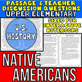 Native Americans: Non-Fiction Reading Passage