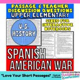 Spanish American War: Non-Fiction Reading Passage
