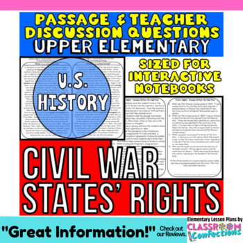 Civil War: Non-Fiction Reading Passage