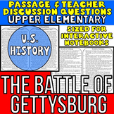 The Battle of Gettysburg: Non-Fiction Reading Passage