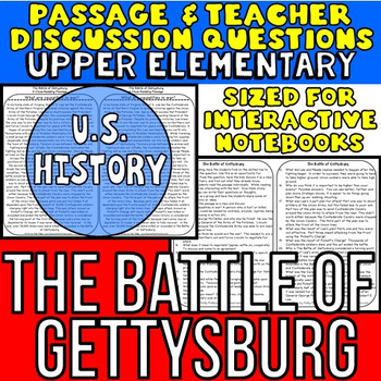 The Battle of Gettysburg: Non-Fiction Reading Passage