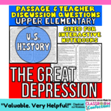 Great Depression: Non-Fiction Reading Passage