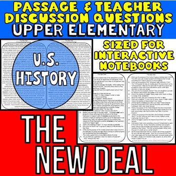The New Deal: Non-Fiction Reading Passage