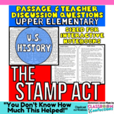 The Stamp Act: Non-Fiction Reading Passage