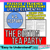The Boston Tea Party: Non-Fiction Reading Passage