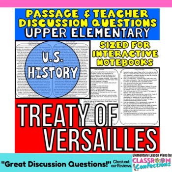 Treaty of Versailles: Non-Fiction Reading Passage