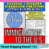 Immigration: Non-Fiction Reading Passage