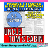 Uncle Tom's Cabin: Non-Fiction Reading Passage