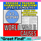 WW2 - WWII - World War Two: Non-Fiction Reading Passage