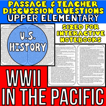 World War 2 - WW II - World War Two: Non-Fiction Reading Passage