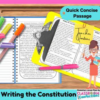 Constitution: Non-Fiction Reading Passage