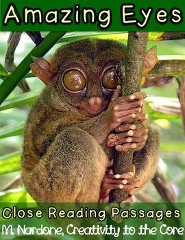 Close Reading: Amazing Animal Eyes
